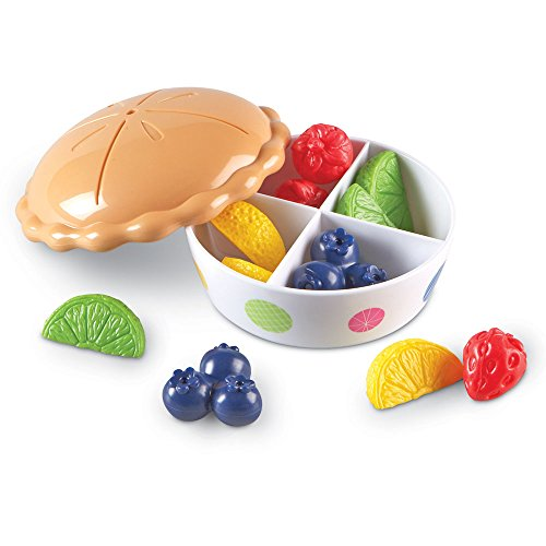 Learning Resources Color Fun Fruit Pie, 13 Pieces