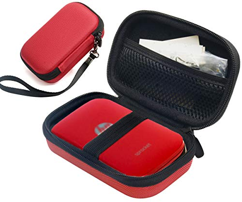 %59 OFF! Ballistic Red Portable Photo Printer Case for HP Sprocket Portable Photo Printer, Polaroid ...