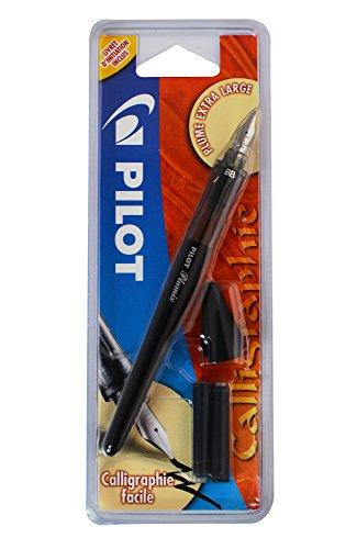 Pilot Plumix Stylo-Plume. Plume Extra Large + Cartouche encre noire,1.00mm