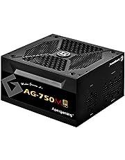 Apexgaming AGシリーズ 80 PLUS GOLD認証 750W フルプラグインATX電源 10年保証 PSU AG-750M-JP PSEケーブル (750W)