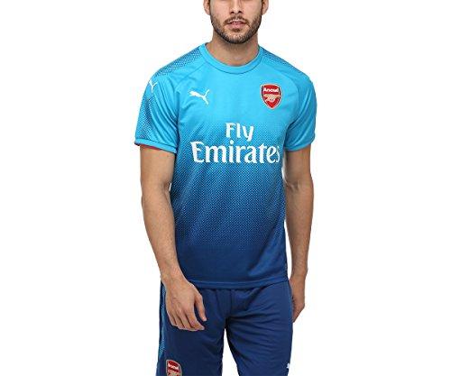 PUMA AFC Away Replica Camiseta, Hombre, Rojo (Azul Brillante), L