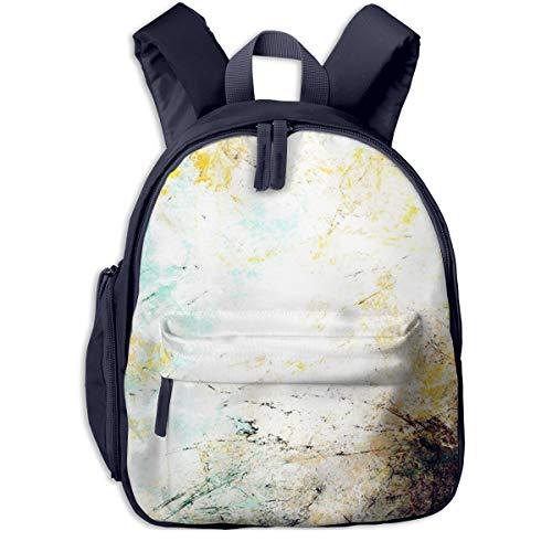 Kinderrucksack Kleinkind Jungen Mädchen Kindergartentasche Effektfarbe futuristisch Backpack Schultasche Rucksack