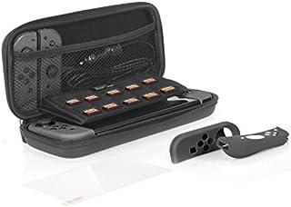 Amazon基本的 Nintendo Switch用?;ぬ准?(收纳箱+Joy-Congrip +钢化玻璃制屏幕?;つ?屏幕膜)