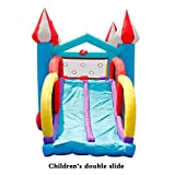 AFDK Castillos Hinchables los hijos de los hijos de castillo inflable al aire libre al aire libre...