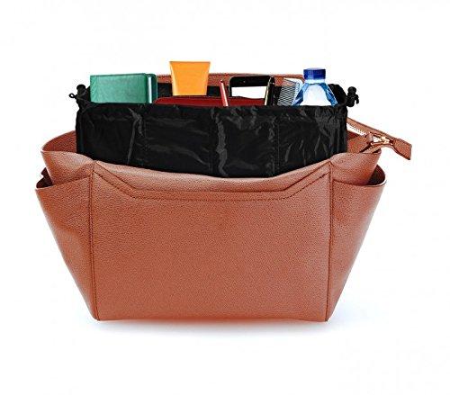 Set 2 organizer borse per organizzare borse senza scomparti dotato di multitasche per tenere sempre in ordine e a portata di mano ciò che serve MWS