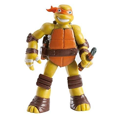 Figurita para decoración de Pasteles TMNT Tortugas Ninja (Michelangelo)