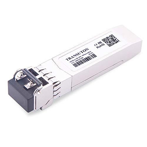 Módulo transceptor 10GBase-SR SFP+ para Cisco SFP-10G-SR, Meraki MA-SFP-10GB-SR, Ubiquiti UF-MM-10G, Netgear,D-Link,TP-Link,Mikrotik, 850nm 300m DDM módulo multimodo