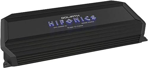 2021 Hifonics GA-4000.1D Goliath Series Monoblock Super D-Class Amp (4,000 new arrival W) outlet online sale (Renewed) online