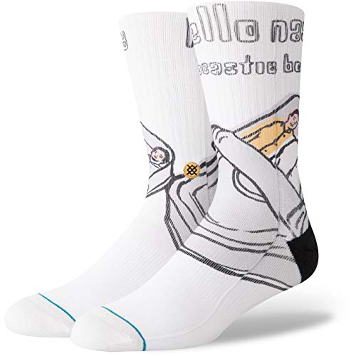 Stance x Beasty Boys Hello Nasty Socke Größe: L Farbe: White