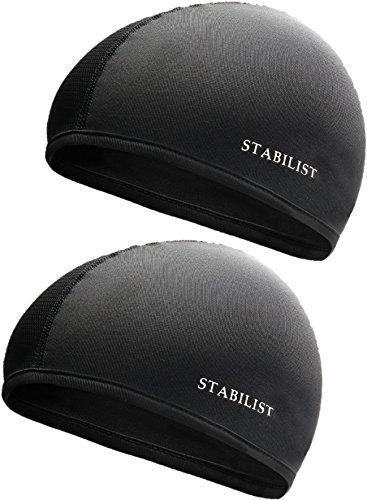STABILIST インナーキャップ ヘルメット バイク フリーサイズ 2枚 吸汗速乾消臭抗菌