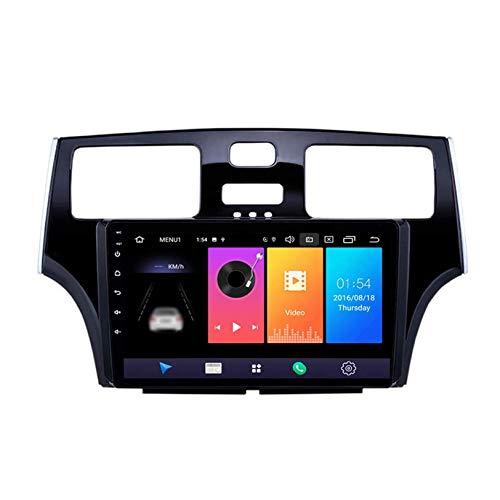 Android 10 Radio Automática Estéreo Automóvil Navegacion GPS Unidad Principal para ES250 / ES300 / ES330 2001-2006, Pantalla Táctil HD Navegación por Satélite SWC Bluetooth Receptor Video,4 core,1+16G