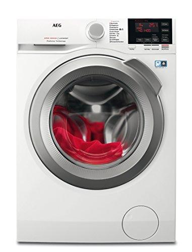 AEG L6FB67400 Waschmaschine Frontlader/ Effizienzklasse C / 1400UpM / Mengenautomatik / großes Fassungsvermögen
