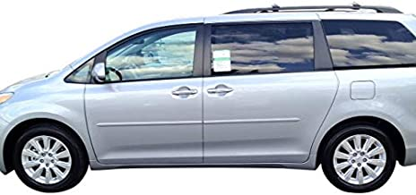 Painted Body Side Moldings for the Toyota Sienna Painted in the Factory Paint Code of Your Choice 1D6
