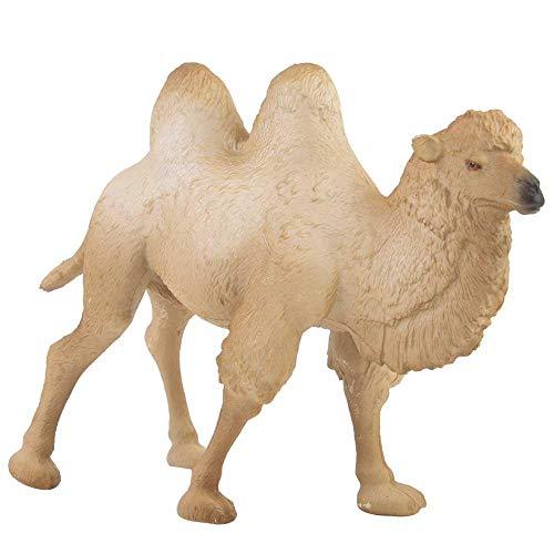 Kamel Tiermodell, Miniatur frühen Kindheit weiße große Kamel Figur Tiermodell solide Wohnkultur pädagogisches Spielzeug für über 3 Jahre alt