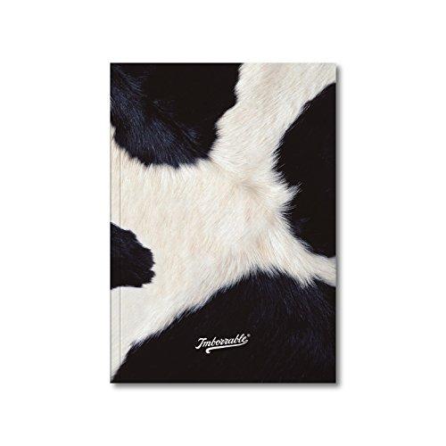 Imborrable Vaca - Cuaderno de notas con malla de puntos, 144 páginas, A5, 14.8 x 21 cm