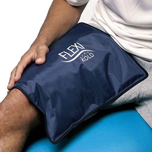 FlexiKold Gel Ice Pack (Standard Large: 10.5' x 14.5') - Reusable Cold Therapy Pack (for Pain and...