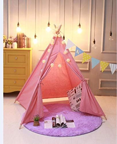 Castle Play Tent For Indoor And Outdoor Games,Picnic decoration tent, children's play house-L_1.35m,Castle Tent Toy Play Tent Portable Collapsible