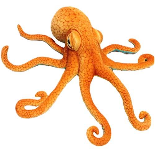 Vosarea simulación, pulpo, peluche de peluche, juguete realista de animales marinos muñeca Throw almohada cojín