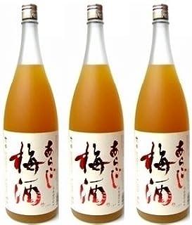梅乃宿 あらごし梅酒1800ml×3本セット  ■酒の藤原屋がお届けする大人気あらごし梅酒!