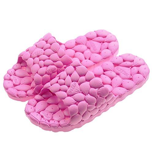 PROCHE Women/Men Summer Bath Slipper Hollow Indoor Sandal Anti-Slip Water Leakge Shower...