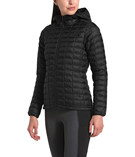 The North Face Women's Thermoball Eco Hoodie, TNF Black Matte, 3XL