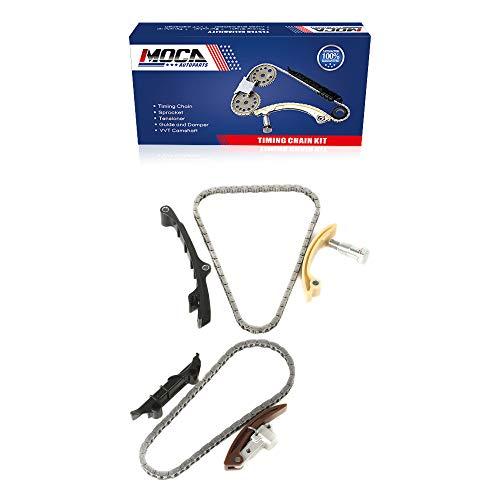 MOCA Engine Timing Chain Kit for 98-02 Volkswagen Golf & Volkswagen Jetta & 99-00 Volkswagen Eurovan 2.8L V6 12V SOHC VR6 AFP Engine