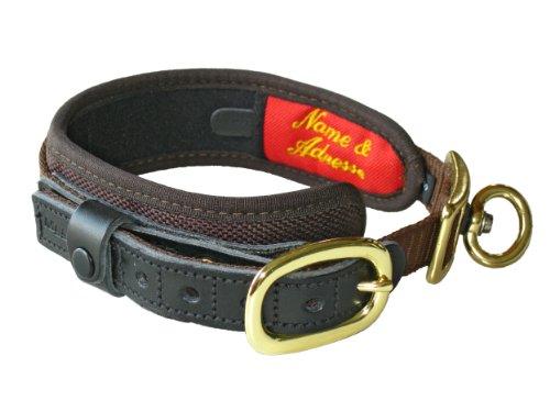 Niggeloh Hundehalsung Deluxe, braun, S, 091100020
