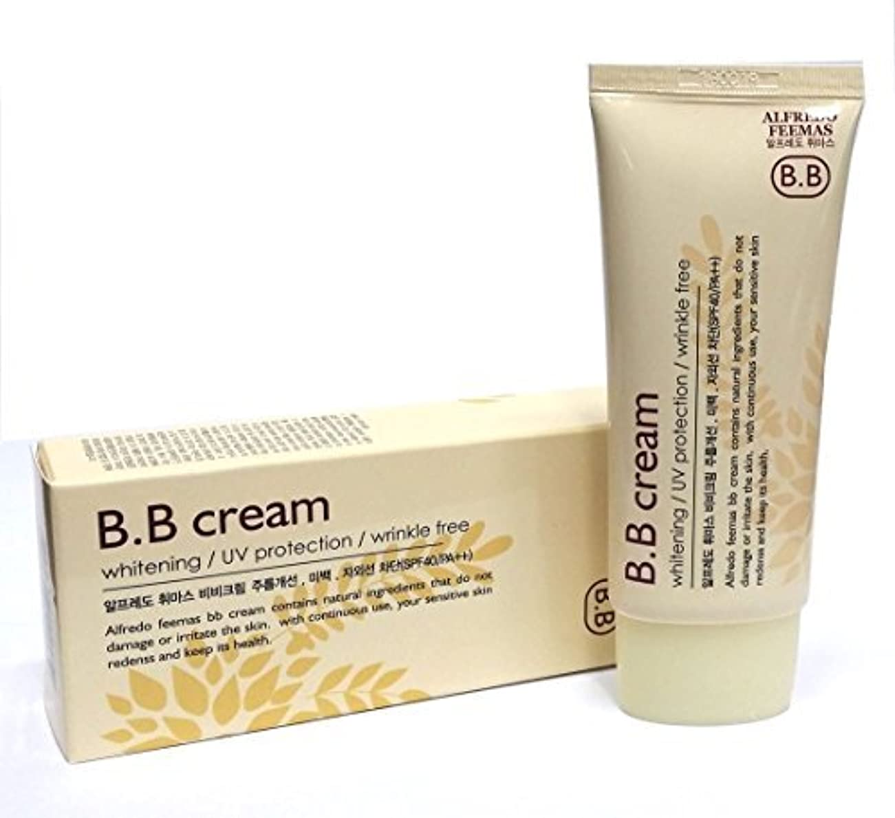 学んだ蒸発する好奇心盛[ALFREDO FEEMAS] シャイニングBBクリームホワイトニング日焼け止めSPF40 PA++ 50ml / 韓国化粧品 / Shining BB Cream Whitening Sunblock SPF40 PA++ 50ml / Korean Cosmetics [並行輸入品]