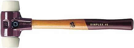 Schonhammer D. 40mm 610g Simplex Nylon weiß HALDER mit mit mit Holzstiel B00VWNT8IY | Der Schatz des Kindes, unser Glück  b245ed