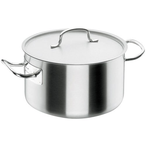 Lacor - 50033 - Cacerola Alta Con Tapa Chef Classic 32cm Ino
