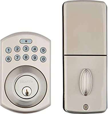 Delaney Hardware 311704 KP250 Digital deadbolt, One Size, Satin Nickel