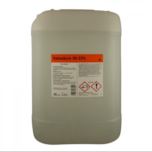 Salzsäure 30-33% techn. 25 L