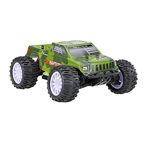 Goolsky ZD Racing RAPTORS MT-16 1/16 4WD elettrico Brushless Monster Truck Off-Road Buggy con 2.4G 3CH telecomando controllo