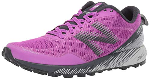 New Balance Women's Summit Unknown V1 Trail Running Shoe, Voltage Violet/Summer Fog, 9 D US