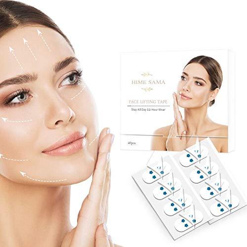 【2020 Summer】Matte Face Lift Sticker Face Lift Tape Invisible Artifact...