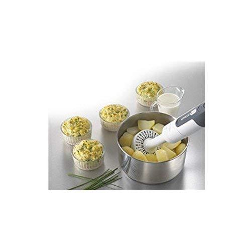 Kenwood HDP306WH Mixeur Plongeant Tribladé Plastique Blanc/Gris 7,3 x 7,3 x 42 cm