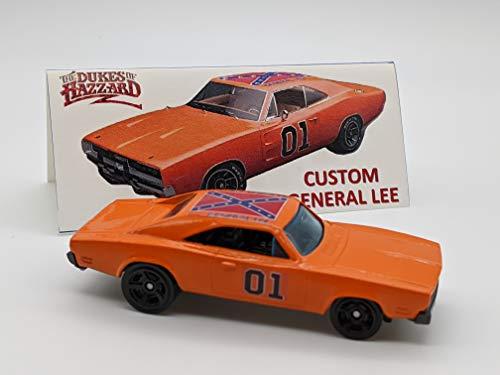 Custom Hot Wheels Dukes of Hazzard General Lee 1969 Dodge Charger