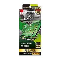simplism トリニティ 2019 iPhone 11/XR [FLEX 3D] ゴリラガラス 複合フレームガラス ブラック TR-IP19M-G3-GOCCBK