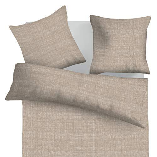 SoulBedroom Raster 100% Coton Parure de lit (Housse de Couette 200x200 cm & 2 Taies d'oreiller 65x65 cm)