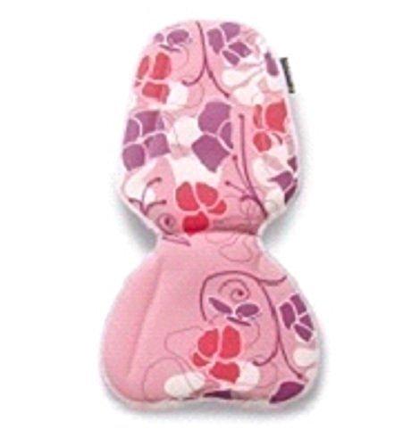 Basil Prima Vista Inlay Small Kissen für Kindersitz Fahrrad Einlage Fahrradsitz Rosa Rot Lila Blumen Mädchen 50020
