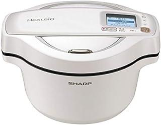 シャープ 水なし自動調理鍋 1.6L ホワイト系SHARP ヘルシオホットクック KN-HW16F-W