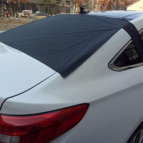 BTZHY Automagnet achterruitafdekking sneeuw voorkomt sneeuw, ijs, zonwering stof vorst invriezen auto voorruit plafond bescherming NIEUW