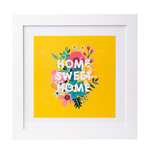 Grupo Erik PE30X30CM0025 Cuadro Decorativo Loreak Home Sweet Home, 30x30 cm, Home