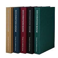 HEALLILY 模擬装飾ブックボックス木製アンティークブック装飾ヴィンテージブック写真小道具ランダムな色