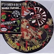 """DEMENTED ARE GO """"Sickness In Truth"""" / DEADBOLT """"Telephone The Dead"""" Split Single [7 inch Analog]"""
