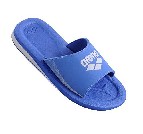 Arena unisex badschoenen Beat Box, meerkleurig (Fast blauw/wit), 38 EU