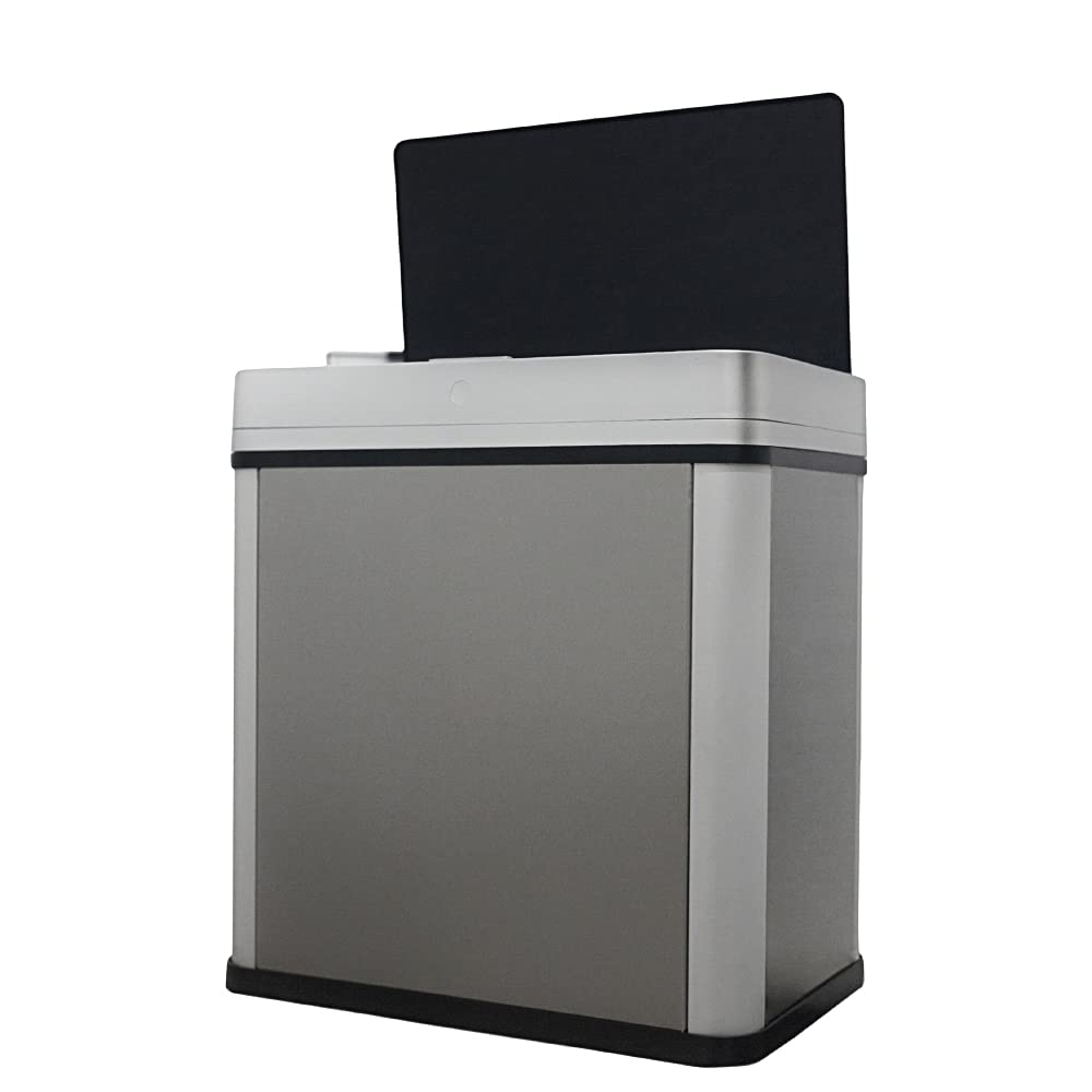 Automatic Max 59% OFF Trash Garbage Can Hands-Fr Online limited product Touchless Sensor Detachable