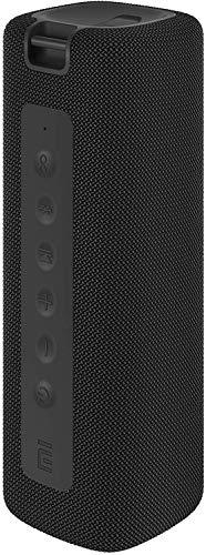 Xiaomi Mi Echter tragbarer Bluetooth-Lautsprecher TWS kabellos mit Akku 2600 mAh, verbesserter Schutz gegen Wasser IPX7, kabelloser Lautsprecher (schwarz)