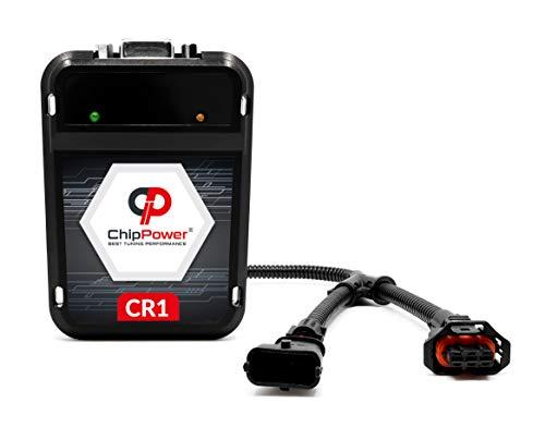 Chiptuning ChipPower CR1 für C-Klasse C 220 CDI C/S/W204 125 kW 170 PS 2007-2015 Tuningbox Diesel mit Plug&Drive Chip Tuning Mehr Leistung