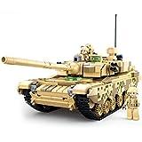 12che 893St WW2 Panzer Modell Militär Panzer Spielzeug mit Minifiguren für Kinder - 99A Kampfpanzer